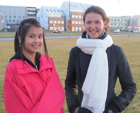 Ina Kraemer och Rina Weinman Island 2010