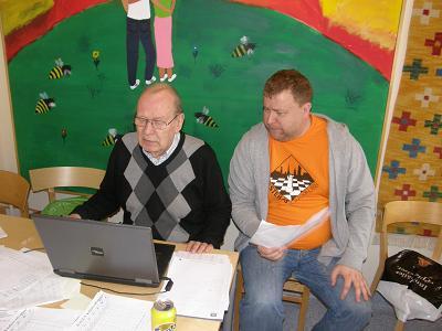 Lennart Brorson och André Nilsson