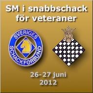 Välkommen till SM i snabbschack för veteraner 26-27 juni 2012 i Stockholm!