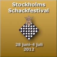 Välkommen till Stockholms Schackfestival 28 juni-4 juli 2012!