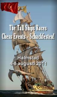 Välkommen till The Tall Ships Races Chess Events - Schackfesten i Halmstad 4-8 augusti!