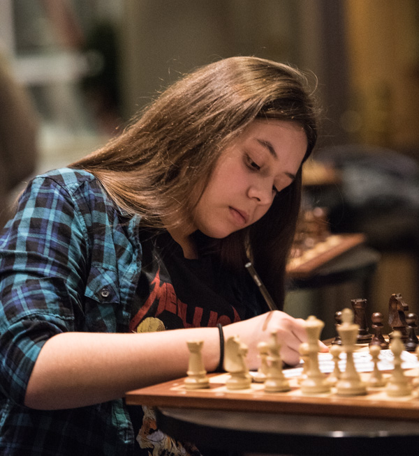 Margo Zarytovskaya är en av de kvinnliga deltagarna. (Foto: Lars OA Hedlund)
