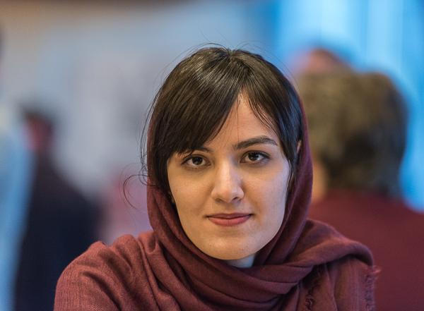 En av de kvinnliga deltagarna är WGM Mitra Hejazipour. (Foto: Lars OA Hedlund)