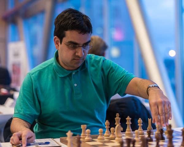 IM Justin Joseph Sarkar has 3.5 points after four rounds. (Photo: Lars OA Hedlund)