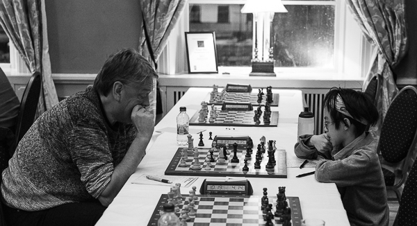 Staffan Thomasson och Melvin Vu (Foto: Lars OA Hedlund)