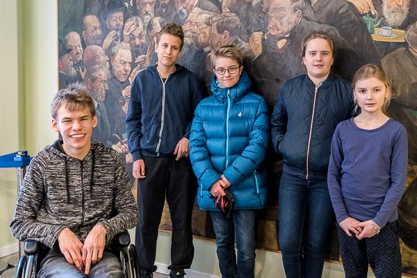 Det vinnande laget SK Rockaden (Foto: Lars OA Hedlund)