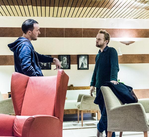 """Konversation"" (Foto: Lars OA Hedlund)"
