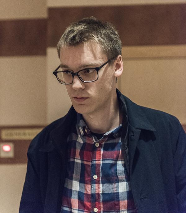 Förstahandsfavoriten GM Erik Blomqvist förlorade med minsta möjliga marginal! (Foto: Lars OA Hedlund)