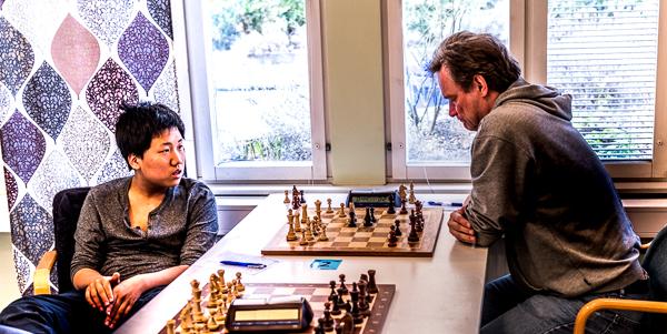 Jung Min Seo - Dick Viklund (Foto: Lars OA Hedlund)