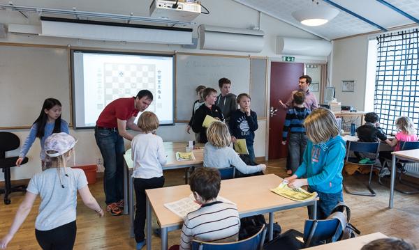 Lördagsträning i Trojanska Hästens regi (Foto: Lars OA Hedlund)