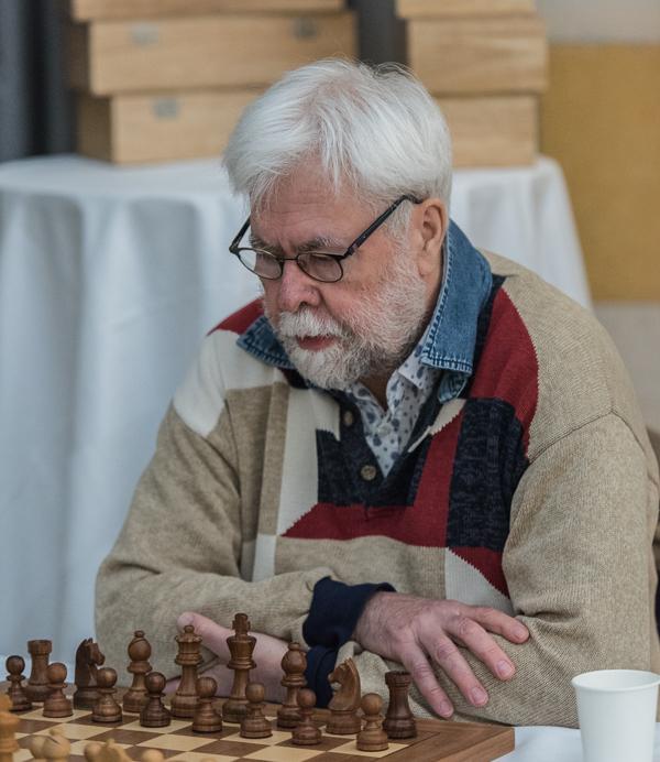 Hemmaspelaren IM Nils-Gustav Renman är en av deltagarna. (Foto: Lars OA Hedlund)