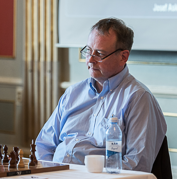 GM Johann Hjartarson (Foto: Lars OA Hedlund)