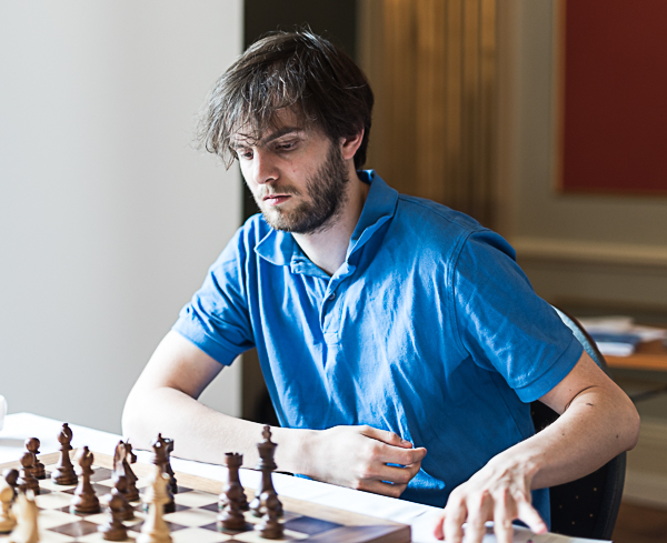 GM Nils Grandelius har 3 poäng. (Foto: Lars OA Hedlund)