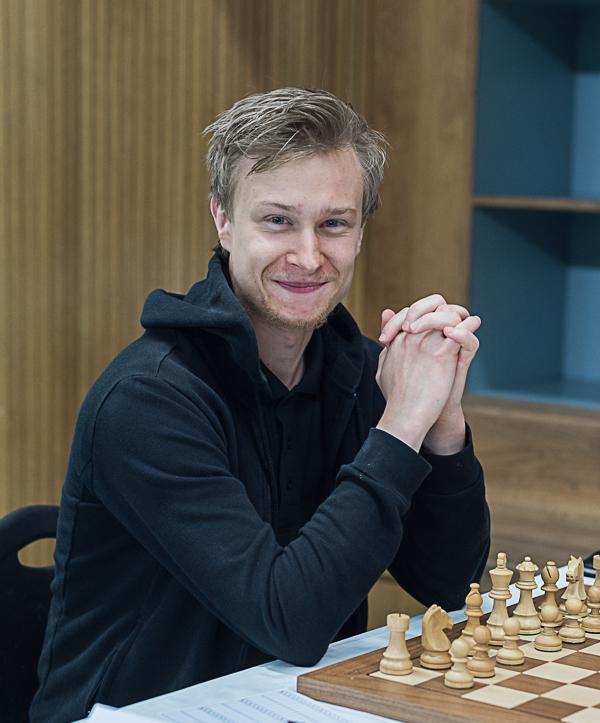 Tom Rydström spelar i Junior-SM. (Foto: Lars OA Hedlund)