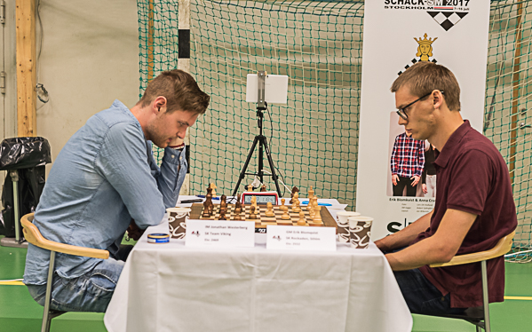 Jonathan Westerberg - Erik Blomqvist/SM-klassen (Foto: Lars OA Hedlund)