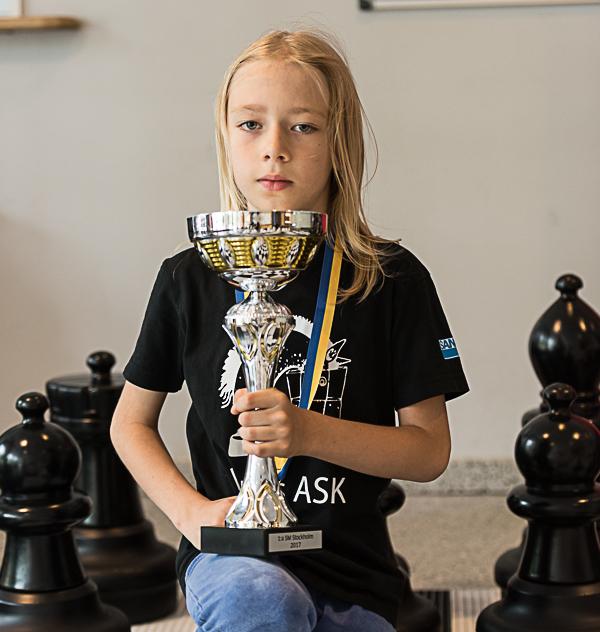 Ludvig Morell/Schackfyranmästaren (Foto: Lars OA Hedlund)