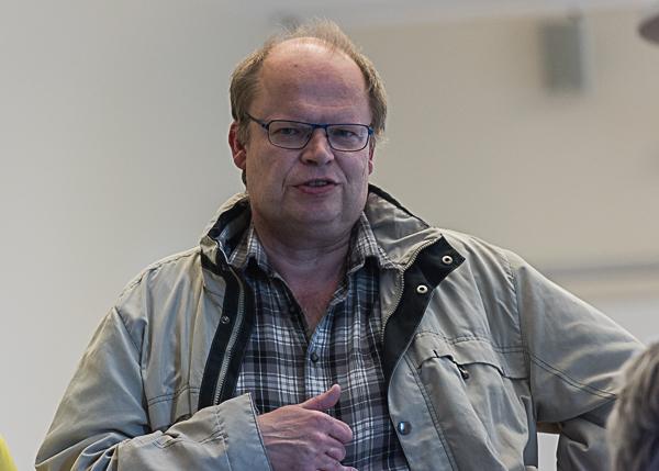 IM Bengt Svensson är en av deltagarna i Lidköping Open 2017. (Foto: Lars OA Hedlund)