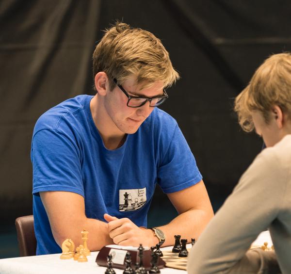 FM Martin Jogstad vann A-gruppen med 6.5 poäng. (Foto: Lars OA Hedlund)