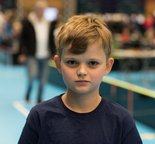 Hugo Wernberg vann F-gruppen. (Foto: Lars OA Hedlund)