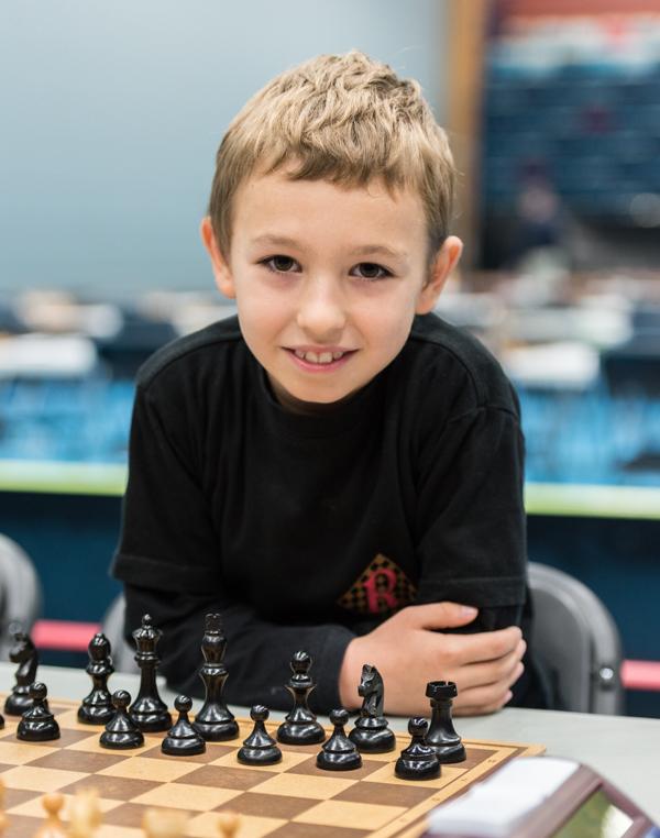 Matija Sakic vann yngsta gruppen, grupp 1. (Foto: Lars OA Hedlund)