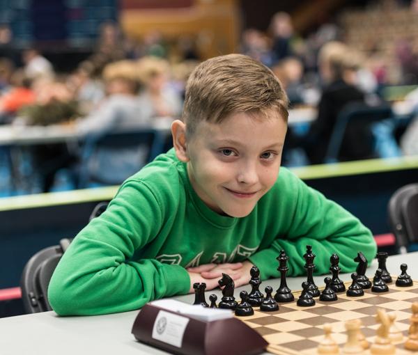 Sebastian Gerdes vann H-gruppen. (Foto: Lars OA Hedlund)