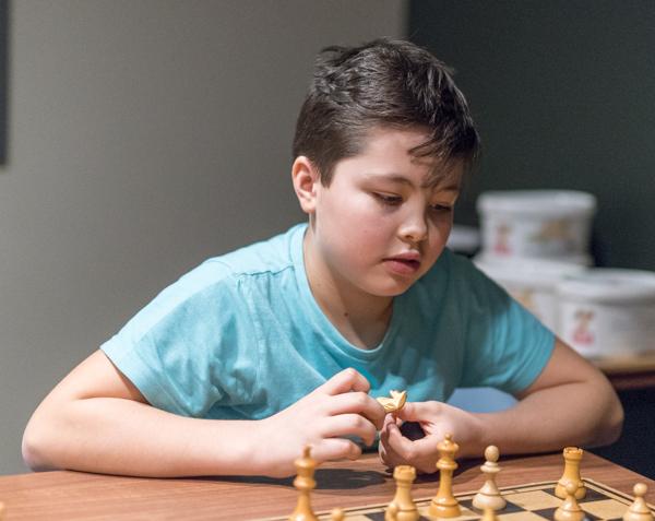 Edvin Trost är en av de unga spelarna som skaffar sig rutin, kunskaper och erfarenheter inför framtiden. (Foto: Lars OA Hedlund)