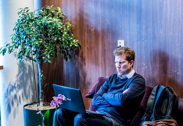 Tiger Hillarp Persson i förberedelsetagen. (Foto: Lars OA Hedlund)