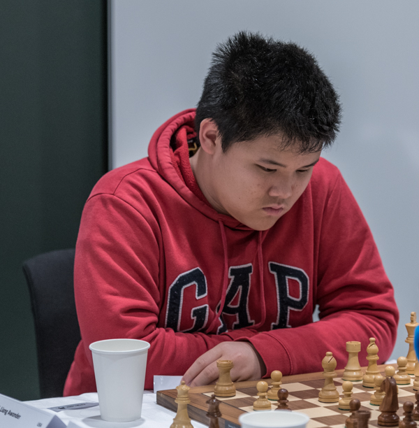 GM Awonder Liang (Foto: Lars OA Hedlund)