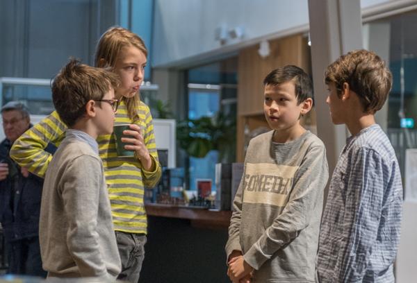 Sebastian, Erik Christopher och Ludwig (Foto: Lars OA Hedlund)