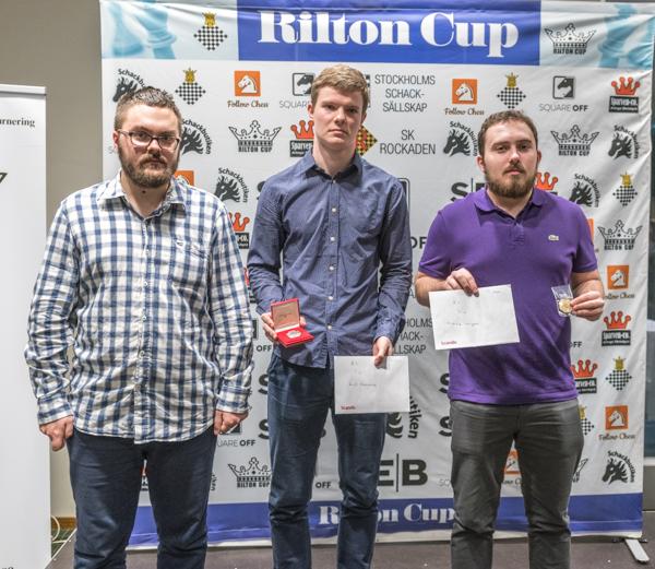 Segrartrion i Rilton Cup 2017/18. (Foto: Lars OA Hedlund)