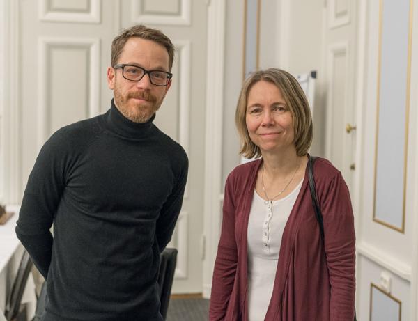 Max Nimander och Pia Cramling (Foto: Lars OA Hedlund)
