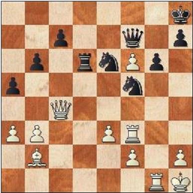 VIt har en snygg vinst som Fischer missade. Kan du se den?