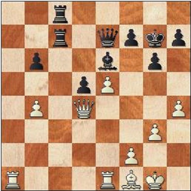 Ska svarts bonde stå på b6 eller b5?