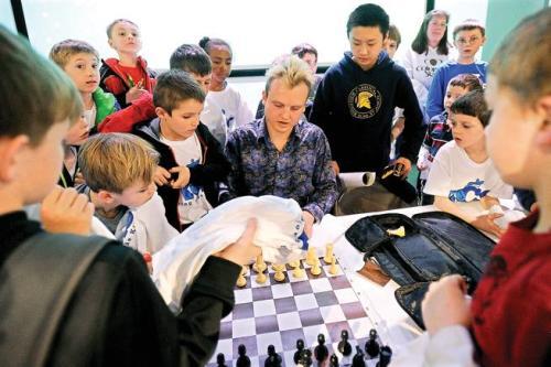 Timus på schackläger (Foto: Ingmar Falk)