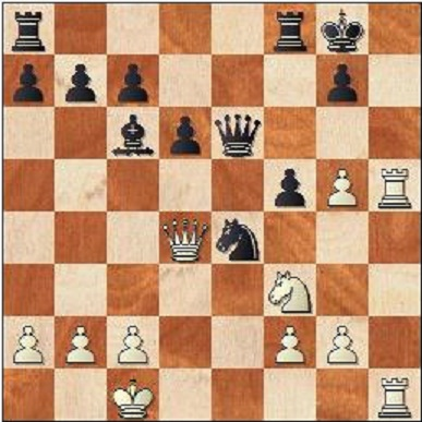 Game 8/As Befits a World Champion/White to play: Game 8/As Befits a World Champion/White to play: