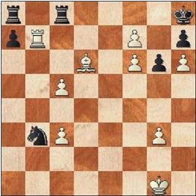 Ska vit spela det prosaiska Rxb3 eller finns det något ännu bättre?