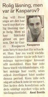 Kasparov sport