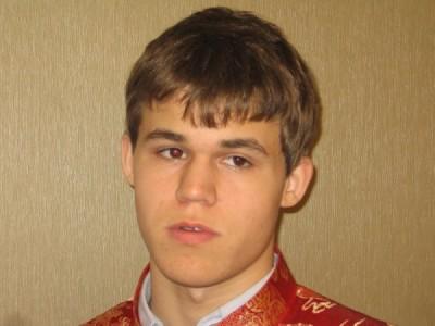 GM Magnus Carlsen Nanjing 2009